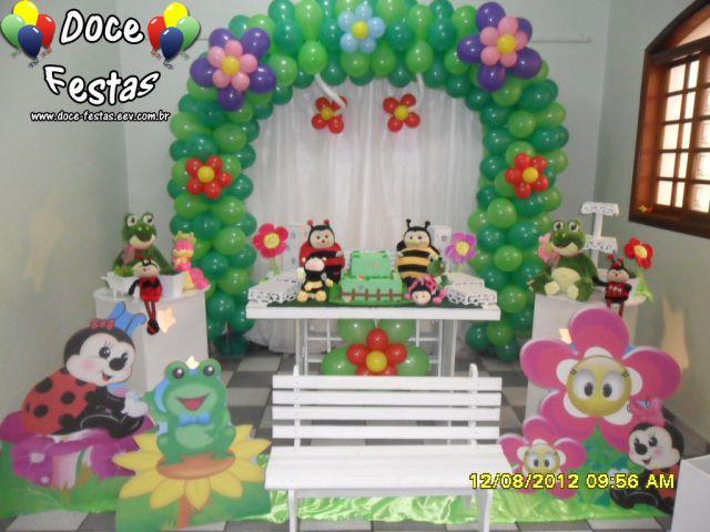 decoracao de balões jardim encantado:JARDIM ENCANTADO CLEAN – Doce Festas !!!! Transformando o seu Sonho na