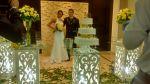 Casamento -Salão de festas da Paróquia São Vicente - Mauá SP Em parceria com a Mk Fest  Dj, Som, Luz e Projeção