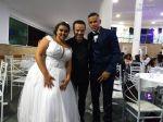 Casamento - Espaço Ferrari - Mauá - Ariane e Jefferson Dj Edytronik - 99571-4191 Assessoria - Fabi Lima