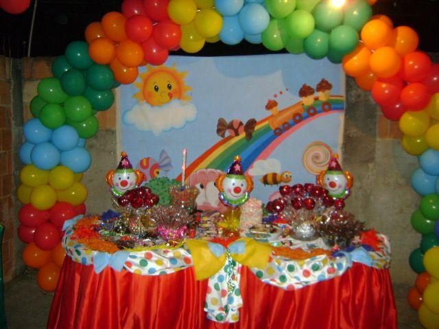 Festa Infantil   Tema Palha  O