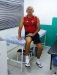 Sala de massagem e fisioterapia