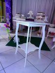 Mesa provençal para bolo grande 60 cm