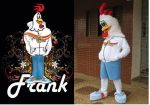 Mascote Frank -Frango Food- Avaré - SP