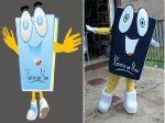 Mascote Fonte da Vida - Goiania - GO