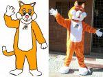Mascote Gato - Rações e Companhia - São José da Lapa - MG