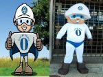 Mascote Super Zero - Grupo Pirueta - Brasília DF