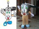 Mascote Panelinha - Ituiutaba - MG