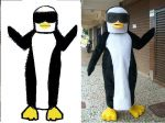 Mascotes Pinguins - Shopping Boulevard - Brasília - DF