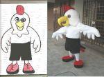 Mascote An�polis Futebol Clube - An�polis GO