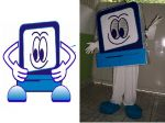 Mascote Cia do Micro - Presidente Get�lio - SC
