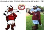 Mascote Raposão - Campinense Clube- Campina Grande - PB