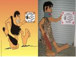 Mascote Pedregulho - Pizza da Pedra - Brasília-DF
