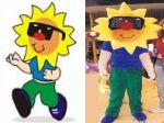 Mascote Solsinho - Ciate - Iate Clube de Bras�lia -Bras�lia DF