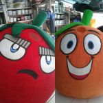 Mascotes - Vitaminics OBA DF - Restauração
