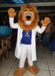 Mascote - Leão Dentista - Patos de Minas, MG