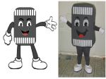 Mascote Faixa de Pedestre - SMT- Jatai - GO
