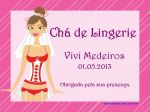 Convite e etiqueta (Lingerie)