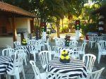 Ornamenta��o da festa tema: Carros (centros de mesa sem�foro e cone de tr�nsito)