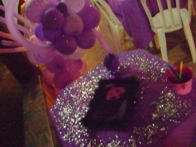 Festa de 15 anos rosa e lilas