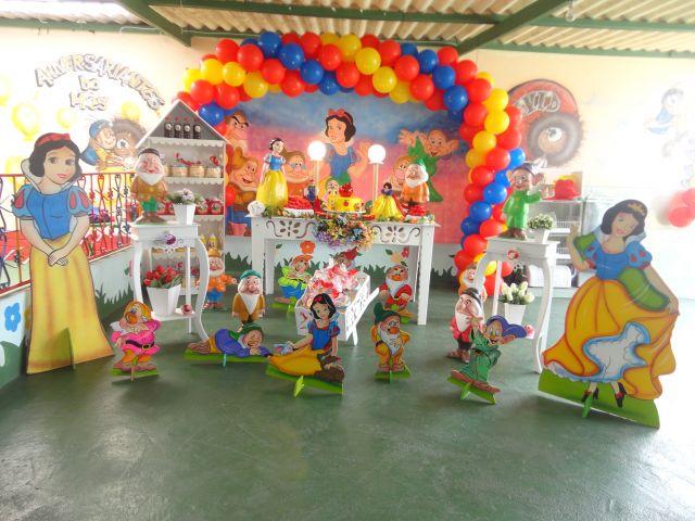 decoracao festa branca de neve provencal:branca de neve – Festamania Festas Infantis