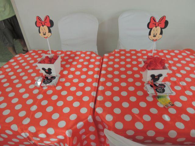 MINNIE VERMELHA PROVENÇAL  Festamania Festas Infantis