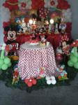 Decoração Minnie Vermelha Tradicional