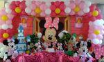 Decoração Minnie Rosa Tradiciona