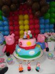 Decoração Provençal da Peppa Pig