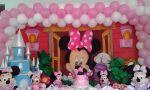 Decoração Minnie Rosa Tradicional