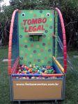 TOMBO LEGAL - Tamanho 1,50m (L) x 2,20m (C) x 2,20m (A) - Suporta adultos e crianças