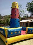 MONTANHA DE ALPINISMO INFLÁVEL - Tamanho 4,50m (C) x 4,50m (L) x 4,00m (A) - Suporta crianças até 12 anos