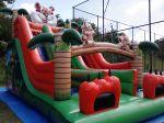 TOBOGÃ TIGRÃO - Tamanho 7,50m (C) x 4,50m (L) x 6,50m (A) - Suporta crianças até 12 anos