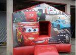 PISCINA DE BOLINHAS INFLÁVEL / PULA PULA CARROS, tamanho 3,00m (L) x 3,00m (C) x 2,40m (A) - Indicado para crianças até 9 anos
