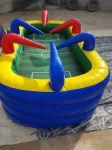 AIR SOCCER - Futebol de ar - Tamanho: 2,50m (C) x 1,50m (L) x 1,20m - Brincam até 6 participantes disputando uma partida de futebol muito divertida