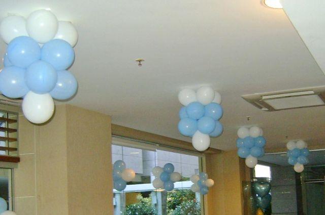 Decoraç u00e3o com Balões Folia e Alegria Festas -> Decoração De Festa Com Balões No Teto