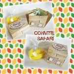 Convite caixa bananinha - 10unid  R$ 59,00