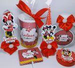 Kit Minnie 10 unidades de cada item (60 unid.) - 250,00