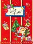 Cartão Papai Noel duplo 1