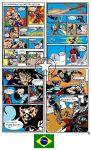 Pagina de revista das aventuras Capitão Estelar