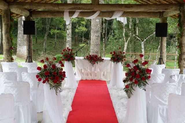Casamento em chácara  IDEALE FESTAS