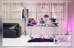 Mesa de bolo e doces Nicole Porta Romana