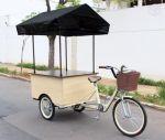 Triciclo para água de coco