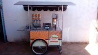 Carrinho Gourmet para churros e churritos - Churros Lordello (3 doceiras) - 120cm x 72cm