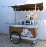 Carrinho Gourmet para churros e churritos - Love Churros