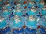 docinhos do frozen em cupulas