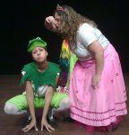 A Princesa e o Sapo.