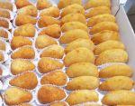 Salgadinhos fritos a partir de R$ 28,00 o cento.