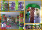 Colunas de flor