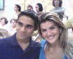 Lehandro Ferreira e Mirelaa Santos( Ex- Noiva do Latino).