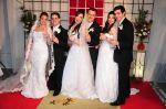 Casamento Triplo !!! Três irmãs!